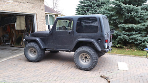 2000 Jeep TJ lifted Wrangler Monster 4x4