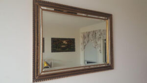 Living room mirror. Excellent condition. $25.