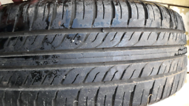 Vauxhall wheel and tyre 195/65/15 triangle