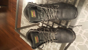 Mens Dr. Martens Industrial Steel Toe Work Boots