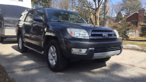 2003 Toyota 4runner limited 4x4