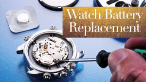 Watch Batteries & Adjustments while you wait! 20y Exp!