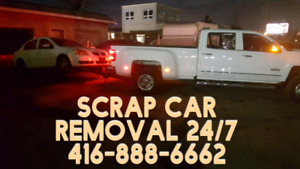 SCRAP YOUR CAR FOR TOP DOLLAR JUNK CAR REMOVAL MISSISSAUGA