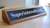 Cleaner and superintendent needed