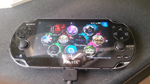Brand new ps vita with games