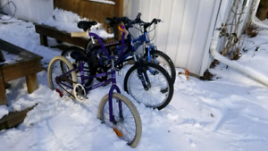 3 kids bikes for sale in Whitby