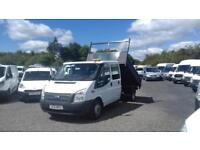 2014 Ford Transit Doublecab Tipper