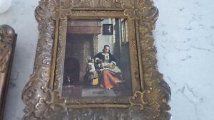 Two Vintage Framed Prints, Fancy Frames Kitchener / Waterloo Kitchener Area image 3