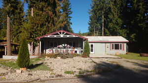 House on 2.5 acres with Big shop and rental house.