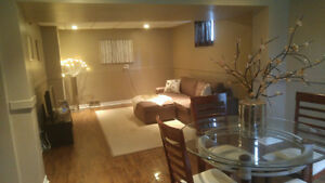 Beautiful Basement Ancaster Apartment for rent with Pool