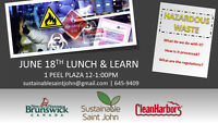 Lunch & Learn: Hazardous Waste - What do we do with it?