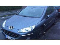 2007 Peugeot 407 swaps or sale