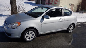 Only 103K, Very nice 2007 Accent 2dr. Auto, new 2yr. MVI