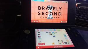 new nintendo 3ds xl  hacked