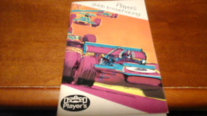 Player's guide to road racing 1971