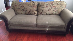 Reversible Comfy couch&love seat, oversized chair. London Ontario image 1