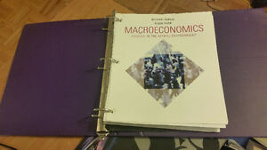 Macroeconomics 8th Parkin Bade (text + study guide)