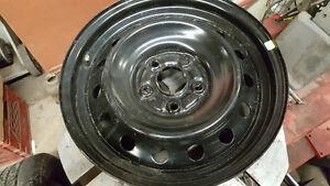 Steel rims 16 * 6.5 --110mm 5 bolt Stratford Kitchener Area image 2
