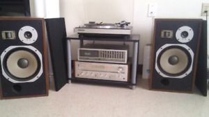 Complete phono stereo system