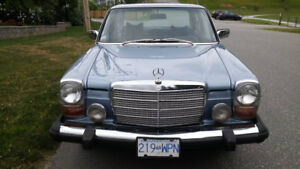 1976 Mercedes 300D Collector Plates ready