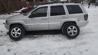 2003 Jeep Grand Cherokee 4.7L Fully Loaded HID Chrome Mags 4X4