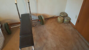 Bench and 200lbs