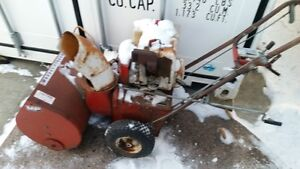 Massy Snowblower for Parts or Fixing,