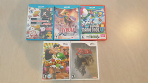 Wii U and Wii Games REDUCED PRICE