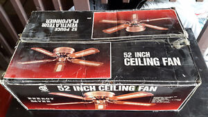 Excellent condition! 52 inch ceiling fanGreat price! - $10