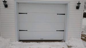 Porte de garage 7pi x 9 pi Garaga