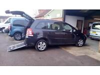 2012 Vauxhall Zafira Exclusive Wheelchair Disabled Accessible Adapted Vehicle