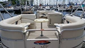 2009 Sunchaser Pontoon Boat 20 ft. New price. Quick sale