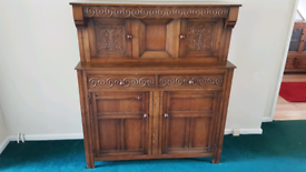2 x WOODEN CABINETS/ FURNITURE