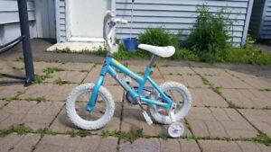 Girls 12 inch bike $25