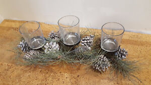 Wedding decoration center piece candle holders