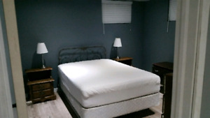 Basement suite available May 1
