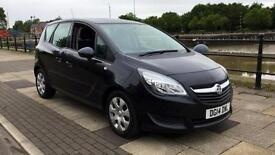 2014 Vauxhall Meriva 1.4T 16V Exclusiv with Front a Automatic Petrol Estate