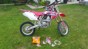 Crf 150R 2007 small wheels