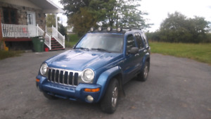 Jeep liberty 2004 4x4 limited