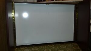 "48"" x 32"" whiteboard with doors"