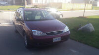 2007 Ford Focus Wagon (cert and etested)