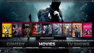 Kodi Live tv/sports, movies on iPad Pro/Apple TV 4/ iPhone 6s+