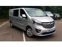 2017 Vauxhall Vivaro 2900 Sport CDTI BT Manual Diesel Panel Van