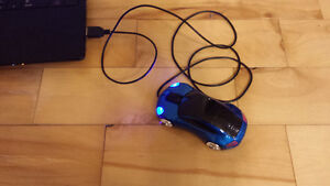 3D Optical Led Car Shape USB Wired Mouse For Laptop
