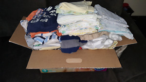 Baby Boys Clothing Lot - Over 80 items