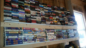 ** HUNDREDS OF VHS MOVIES **