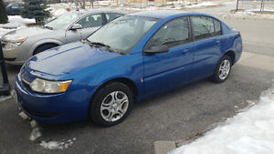 2004 Saturn ION SL Sedan