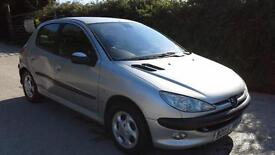 Peugeot 206 2.0HDi 90 2002 GLX DAMAGED SPARES OR REPAIR SALVAGE