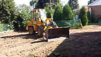 excavation grading cleanup