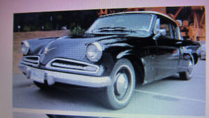 1953 STUDEBAKER CHAMPION 2 DR. HT. COUPE
